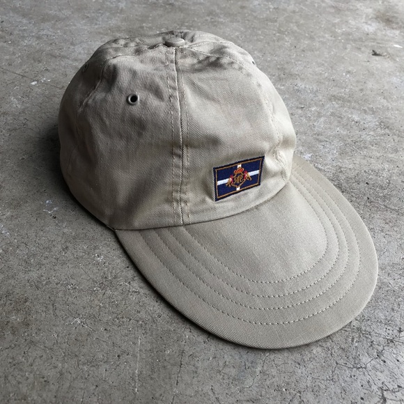Polo by Ralph Lauren Other - Vintage Polo Ralph Lauren Fitted Long Bill Hat